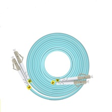 1m LC SC FC ST UPC OM3 Fiber Patch Cable Duplex Jumper 2 Core Cord Multimode 2.0mm Optical Patchcord