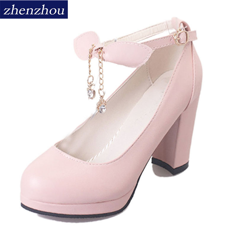 Free shipping 2017 autumn new sweet princess shoe high merchandiser shoes shallowly and round head bow tie lady autumn shoes