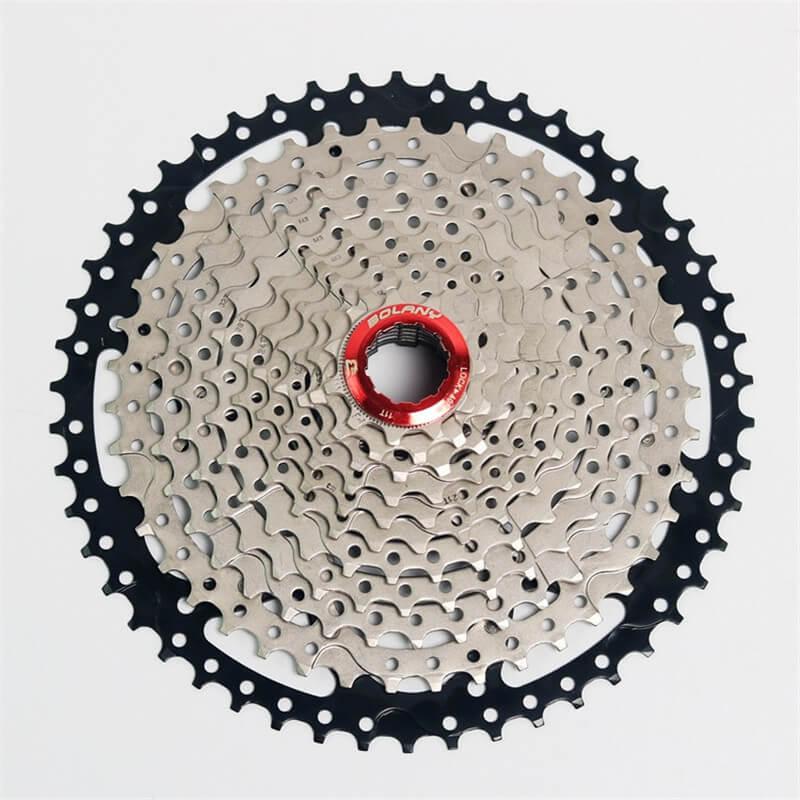 BOLANY 11S 11-50T MTB Mountain Bike Freewheel Cassette Flywheel Wide Ratio AL7075