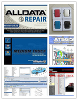alldata heavy truck alldata 10.53 and mitchell on demand auto repair software+ mitchell manager +vivid+atsg all data