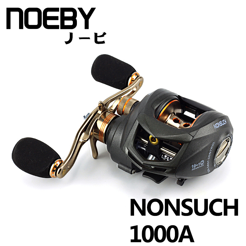 NOEBY NONSUCH High Speed Baitcasting Reel Light Fishing Reel Gear Ratio 6.3:1 10+1BB Bait Casting Fishing Wheel