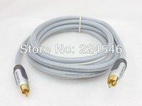 ORIGINAL AV50100EA08 PURE/AV Silver Series Digital Coaxial Audio Cable High Quality RCA (M) - RCA (M) - 2.4 m - Quad Shielded