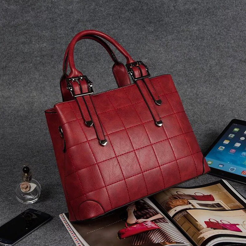 Hot Sale New Design women Bag Fashion Big Bag Women Shoulder Messenger Bag Ladies Handbag Big Shoulder Bags For Woman E64