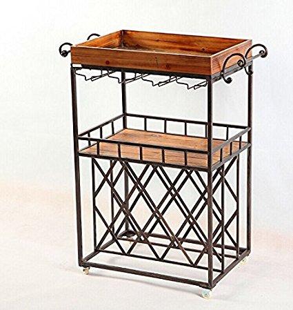 industria de muebles de estilo loft pas de viejo abeto barra de muebles