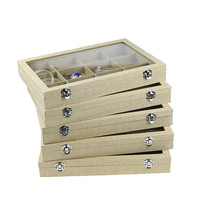 Jewelry Display Ring Display Tray Jewelry Organizer Case Jewellery Box Holder Stand Jewlery Box Bracelet Display Trays