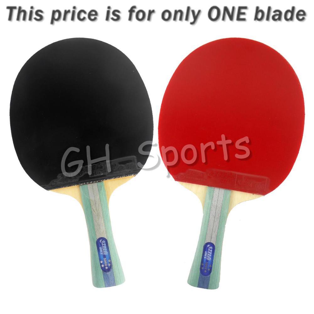 DHS 5002 Long Shakehand FL Table Tennis Ping Pong Racket + a Paddle Bag   Long  shakehand FL dhs 4002 4006 ping pong paddle table tennis racket
