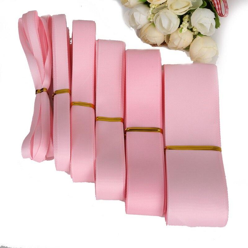 7-38 мм 5 ярдов Розовый цветная корсажная лента для свадебной вечеринки украшения подарочная упаковка самодельные поделки ручной работы аксессуары для одежды