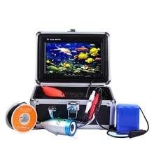 """Эхолот для поиска рыбы камера """" TFT экран 30 м кабель Видеозаписывающие DVR Подводные/водные скважины мониторинга рыболокаторы"""