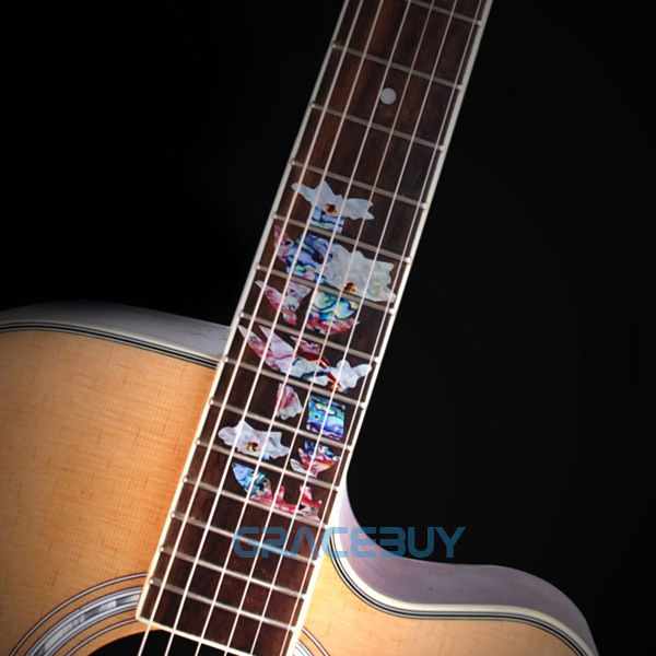 Fretboard Inlay Stickers Hummingbird Pick Honey Guitar Fret Markers / Decals  For Acoustic / Electric Guitarra Neck-in Guitar Parts & Accessories from  Sports ...