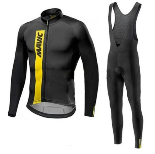MAVIC New Long Sleeves Breathable Riding Set Mens Wear Spring / Autumn Team Cycling Jersey Cycling Clothing Clothing