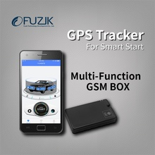 Fuzik OTU Mini GPS Tracker Vehicle Tracking System for remote smart start with Mizway App Control for android ios Smartphone
