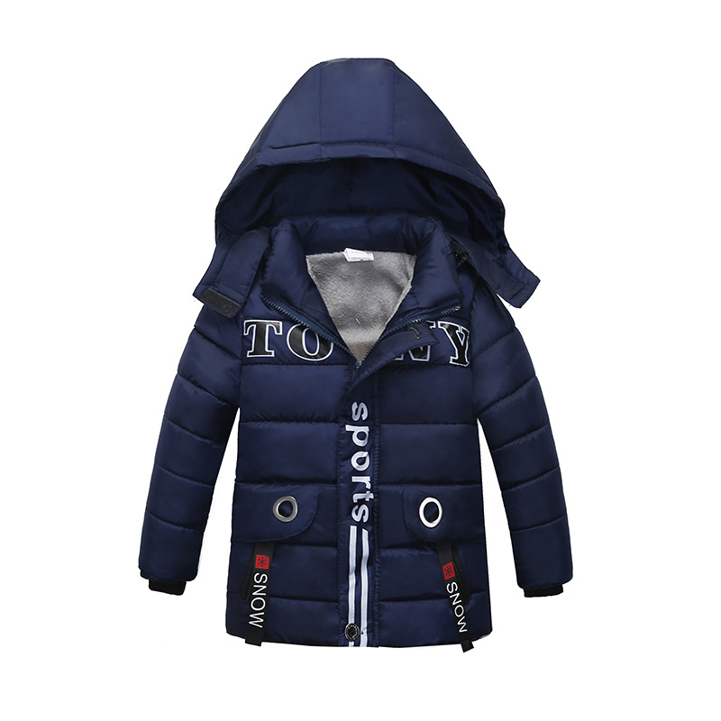 Children Jackets Boys Winter Coat Baby Polyester Jacket Kids Warm Cashmere Lining Outerwear Snowsuit Overcoat Clothes 3 Colors розетка tv проходная schneider electric sedna 8db sdn3201270