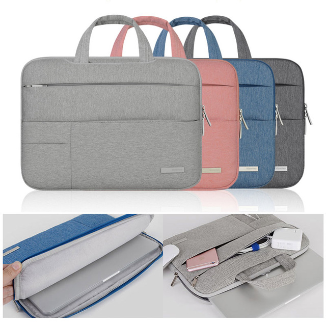 7ca1bf601e38 US $18.99 |13 inch 14 inch 15.6 inch Laptop Bag for macbook air pro  Computer Bag Sleeve Case for Dell Asus Lenovo HP Acer Notebook Handbag-in  Laptop ...