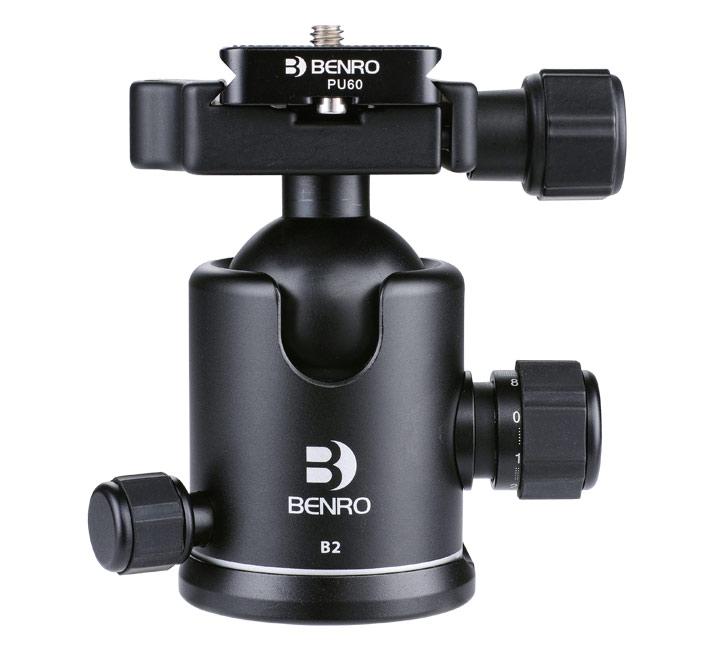 Benro Ball head B00 B0 B1 B2 B3 B4 B5 ballhead Professional Magnesium Video Head Bual Action Ball Head|Tripod Heads| |  - title=