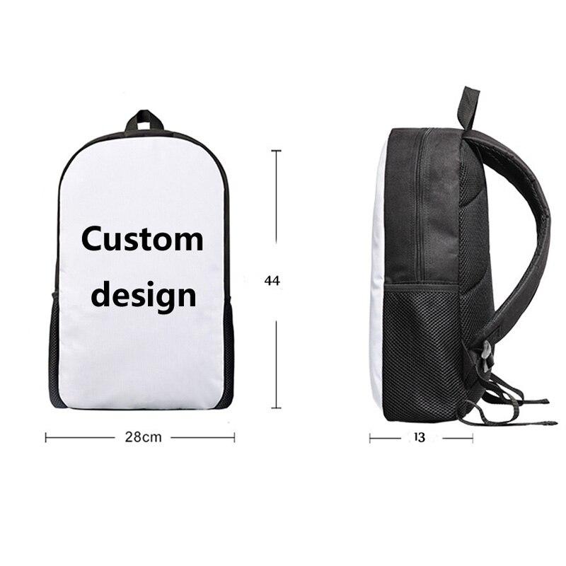 FORUDESIGNS 3pcs/Set Women Children School Bags Bagpack Schoolbag for Teenagers Girls Double Zipper Back Pack Bookbag Pencilbox