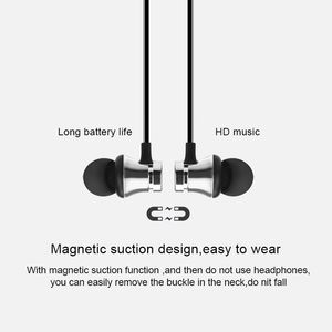 Image 4 - XT11 Magnetic Bluetooth Earphone V4.2 Stereo Sports Waterproof Earbuds Wireless in ear Headset with Mic for iPhone Samsung