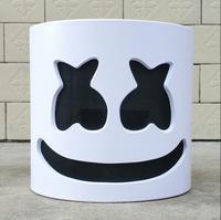 NEW Mask Marshmello Helmet Marshmello DJ Mask Face Hat Music Fans Concert Props Helm High Quality PVC Halloween Christmas Gift