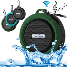 2017 New C6 Portable Wireless Bluetooth Speaker With Call Handsfree Mode and Suction Cup Waterproof Bluetooth Shower Speaker.