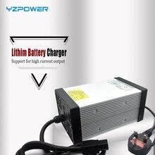 YZPOWER CE Rohs 16 S 67,2 V 7A 7.5A 8A 8.5A 9A 9.5A 10A литий-ионный Lipo зарядное устройство для аккумулятора 60 V