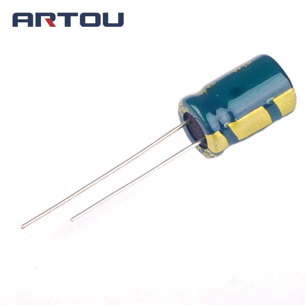 10PCS 470uF 25V 8*12mm 105Centigrade Radial Electrolytic Capacitor
