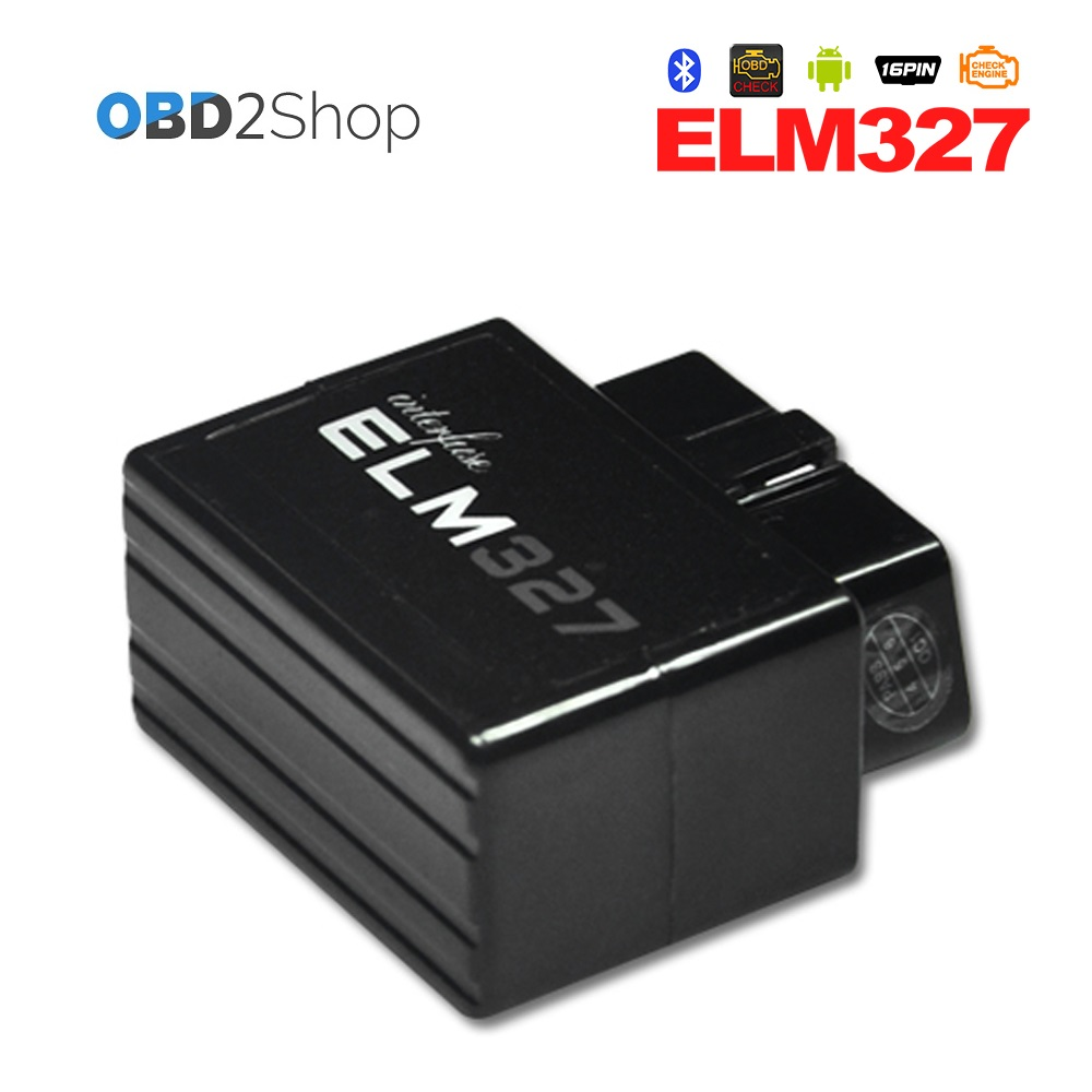 V2.1 Super mini elm 327 Bluetooth OBDii / OBD2 Wireless Mini elm327 Works on Android Tor ...