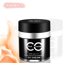 Loumesi CC cream makeup  foundation  Oil-control Concealer Natural Naked Base Primere Concealer  bb ccCream