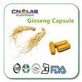 China Panax Ginseng Root/Extracto de Ginseng En Polvo/China extracto de Panax Ginseng Cápsulas 500 mg * 100 Cápsulas/lot