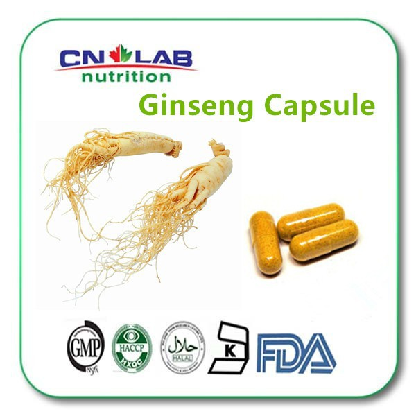 China Panax Ginseng Root /Ginseng Extract Powder/China Panax Ginseng extract Capsules 500mg* 100 Caps /lot