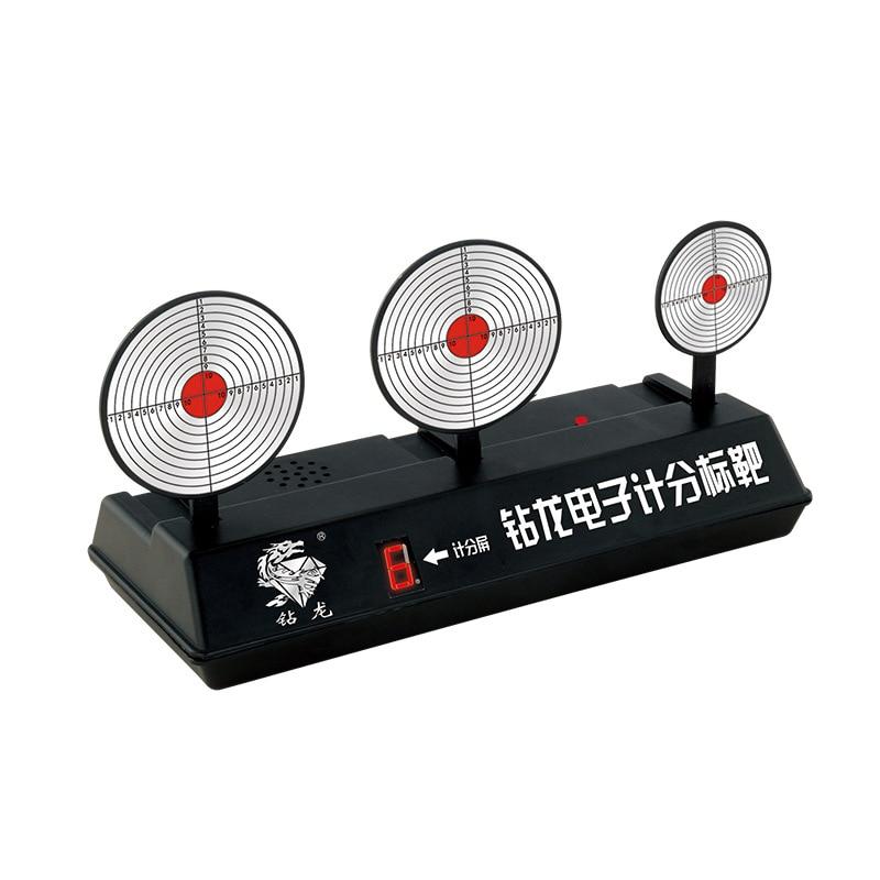 EFHH Electronic Scoring Target Automatic Reset Target Toy Gun Bullet Blasters Darts Toy Gun Soft Bullet
