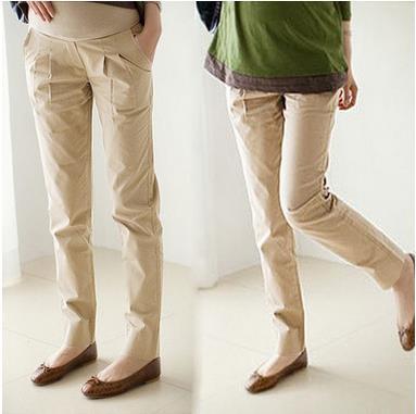 Весна и Осень материнства одежда для беременных брюки большой размер регулируемый брюшной хлопковые брюки pregant женской одежды SH-896