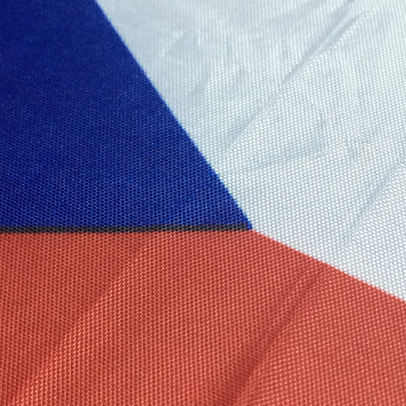 MOFAN 3x5 Foot Czech flag Polyester - Canvas Header and Double - Hiasan rumah - Foto 2