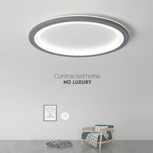 New Gray/White Minimalist Modern led Ceiling Light For living room lights Bedroom ledlamp room light Ceiling Lamp light fixtures цена в Москве и Питере