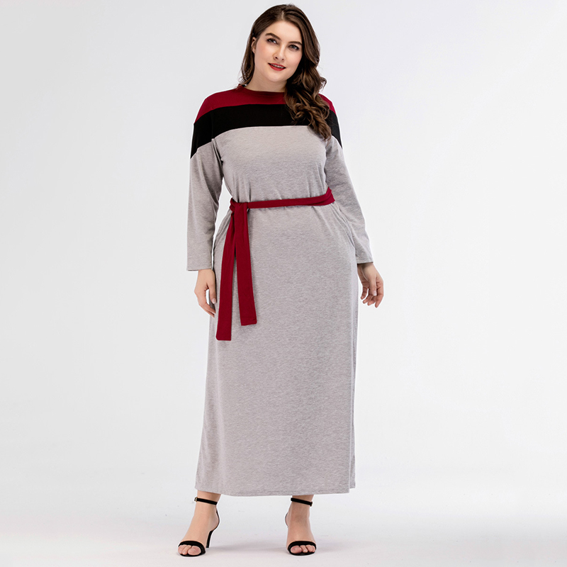 Muslim Abaya Cotton Maxi Dress Cardigan Loose Style Plus Size Kimono Long Robes Jubah Moroccan Middle East Arab Islamic Clothing