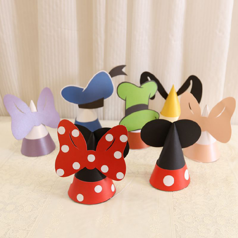12 Disney Mickey Mouse themed 1st Birthday Party Favors Kids Party Favor Gift
