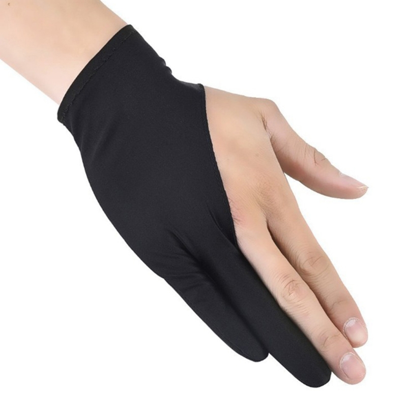 2-Finger Tablet Drawing Anti-Touch Gloves For IPad Pro 9.7 10.5 12.9 Inch Pencil