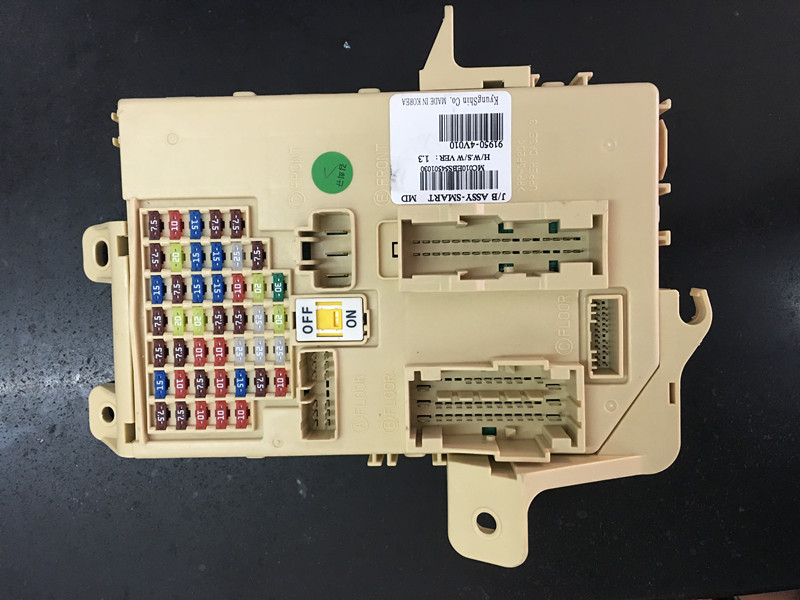popular fuse box switch buy cheap fuse box switch lots from car fuse box block relay for ix35 junction fusebox bcm dash wire panel plug for hyundai
