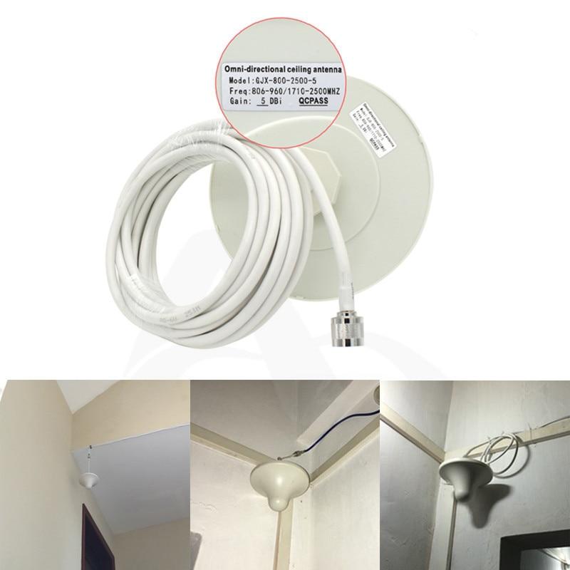 4G LTE indendørs loftantenne 2G 3G UMTS 4G antenne 5M kabel N - Kommunikationsudstyr - Foto 3