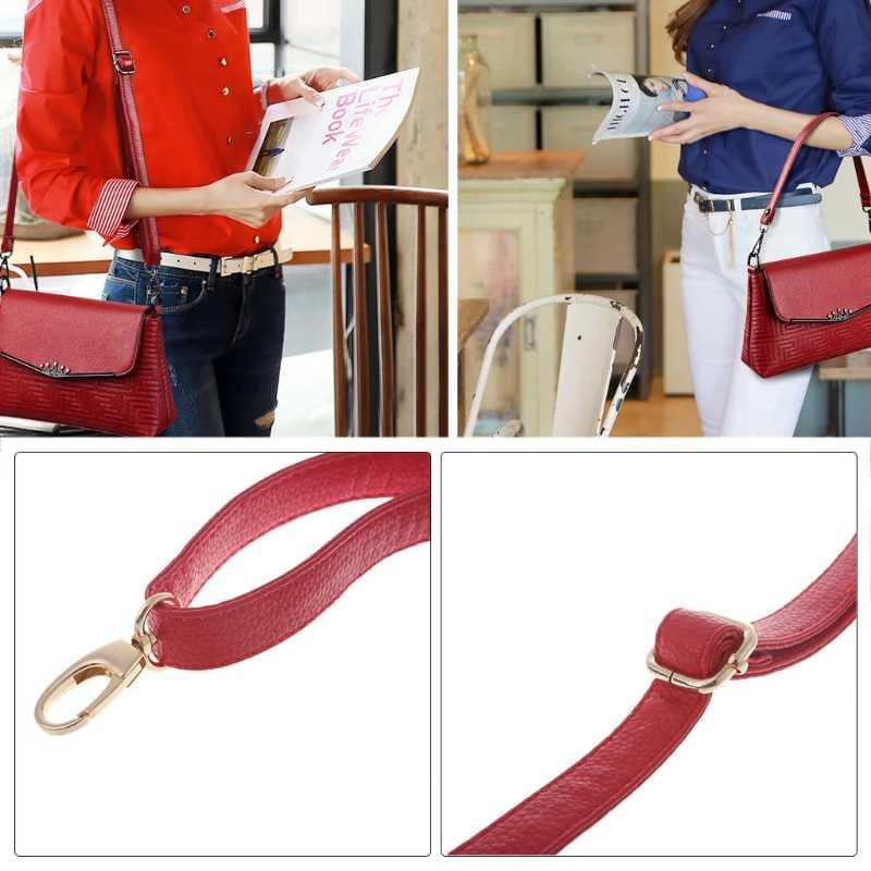 53f71f2269 ... THINKTHENDO 1PC Handbag Shoulder Strap DIY Cross Body Adjustable Faux  Leather Handle Replacement ...