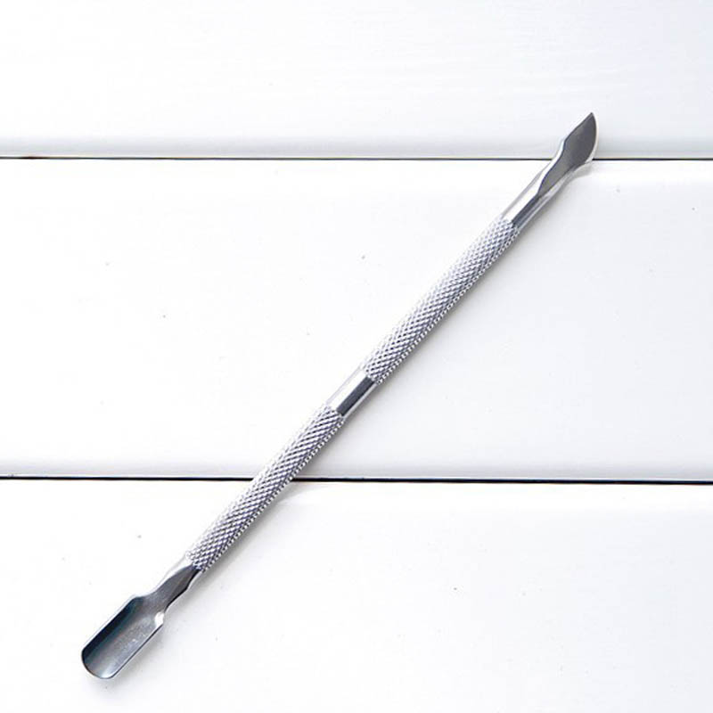 Cuticle Nail Pusher Remover Manicure Pedicure Trimmer Tools Nail File  MSI-19