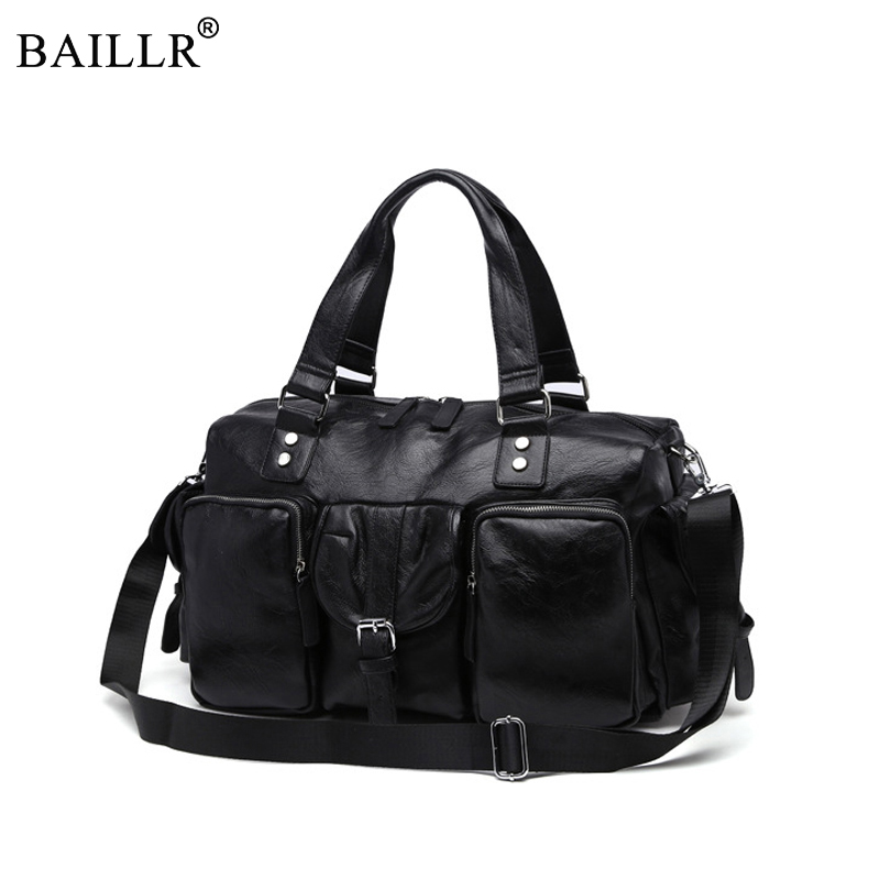 2019 New Men's Travel Bags Brand luggage suitcase duffel bag Large Capacity Bags casual High-capacity leather handbag Wholesale