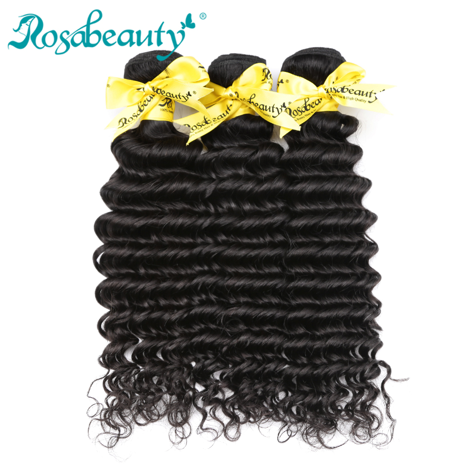 Rosabeauty 3 Bundles Lot 8A Malaysian Curly Hair Bundles 10 30 Inch Remy Hair Extensions 100