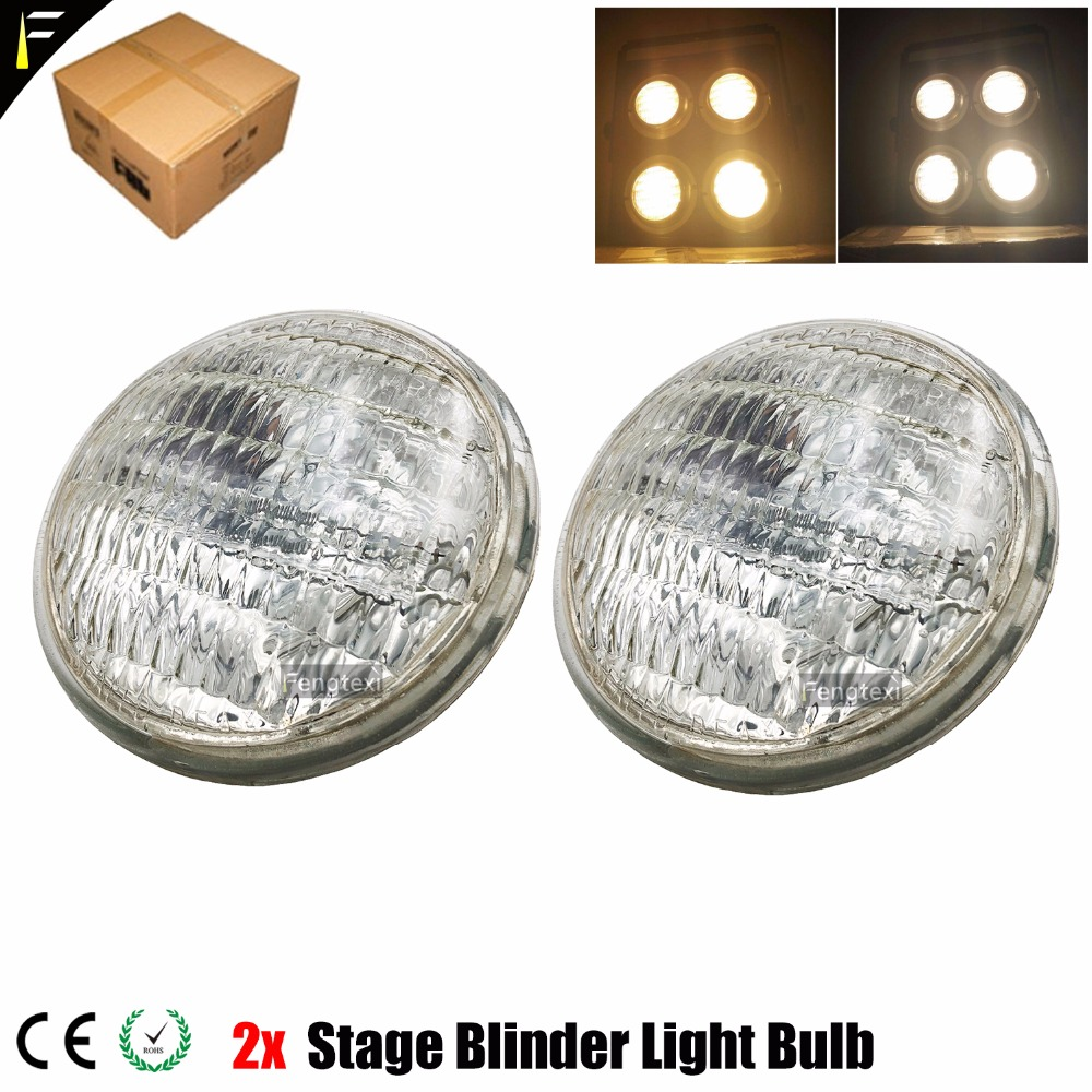2pcs Concert DTS Blinder 2 Light 2000 Set 2x 650W DWE PAR 36 Bulb Lamp Lampara