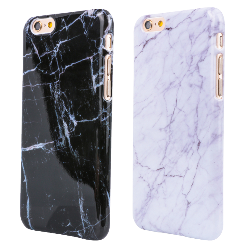 Marble Texture Pattern Mobile Phone Rear Cover for iPhone 5 5S SE 6 6S  6Plus 7 7Plus Smooth Top Quality Hard PC Skin Phone Cases 3862399d86b95