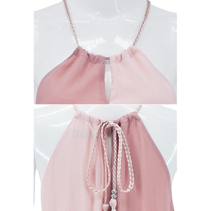 542060938 2018 de verano de las mujeres Maxi Vestido de fiesta noche Vintage Boho  División Chiffon costura vestidos sin mangas Vestido A01 en Vestidos de La  ropa de ...