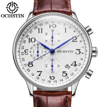 2019 OCHSTIN Mens Watches Top Brand Luxury Chronograph Sport Watch Men Casual Quartz Wrist Watches Male Hour Clock Reloj Hombre big dial watches men hour mens watches top brand luxury quartz watch man leather sport wrist watch clock alloy strap