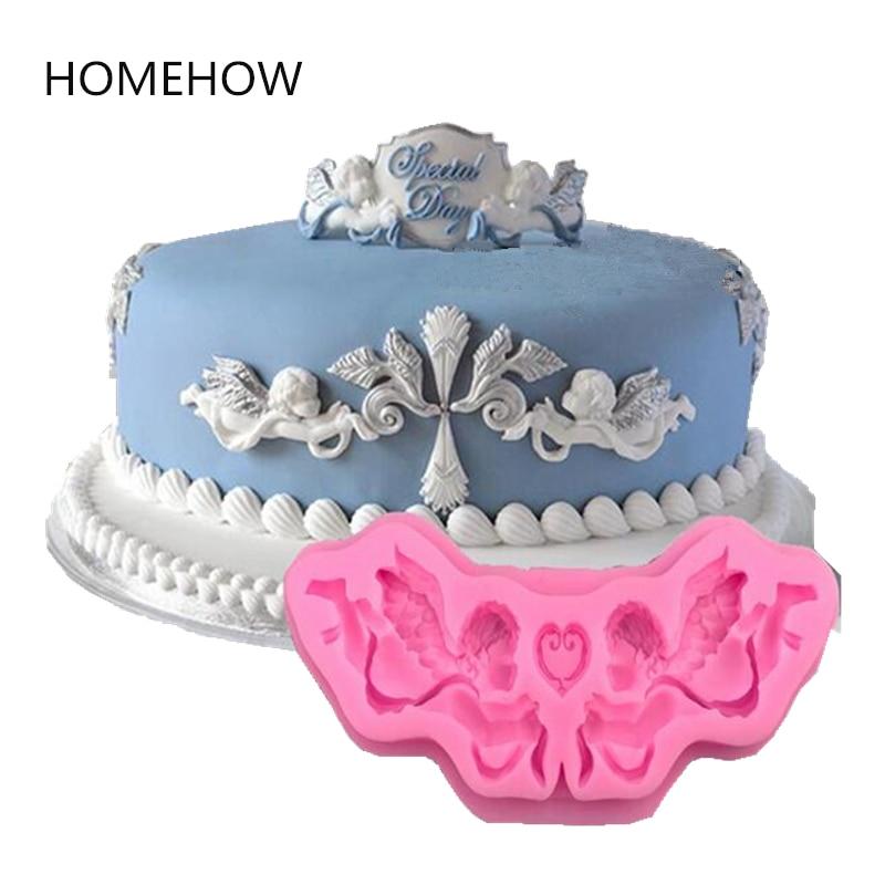 HOMEHOW Cupido Diseño Pastel Molde Decorativo 15 * 1.2 cm 100% Grado - Cocina, comedor y bar