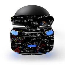 Blackboard Mathematical Formula Theorem Design Decal PSVR Skin Sticker for Sony Playstation PS VR Headset