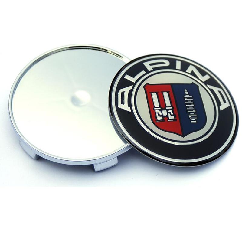 Image 5 - 7pcs Car Stickers Auto Front Hood Emblem Auto Rear Trunk Badge Head Bonnet Boot badge For Alpina Car styling 82MM 74MM 68MM 45MM-in Car Stickers from Automobiles & Motorcycles