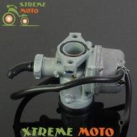 Hand Choke PZ22 22mm Carb Carburetor For 110cc 125cc Bosuer Motocross Enduro Motorcycle Dirt Bike ATV Quad Off Road