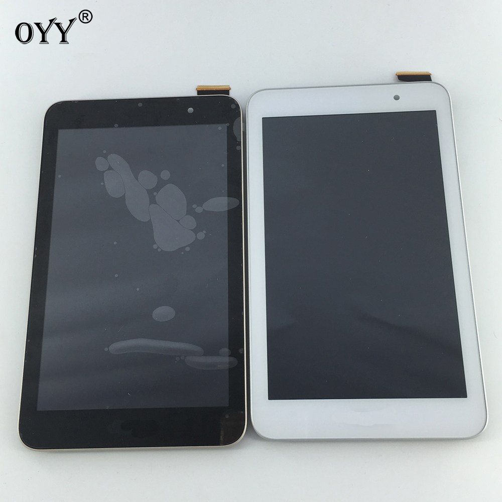 LCD Display Panel Screen Monitor Touch Screen Digitizer Glass Assembly with frame For Asus Memo Pad7 ME176 ME176C ME176CX K013 lcd display panel screen monitor touch screen digitizer assembly parts for asus memo pad 8 me180 me180a k00l tablet pc